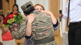 Հայ զինվորի անսպասելի անակնկալը ծնողներին