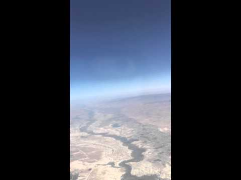 Amman full take off - British Airways Airbus A321 G-MEDM with pilot announcements