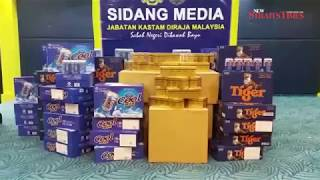 RM10mil worth of liquor, cigarettes seized in Sabah