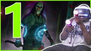 Black Guy Plays: Until Dawn Rush Of Blood (Playstation VR) Pt.1 - I WASN