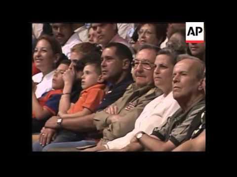 Raul Castro sits in for 13th birthday celebration for Elian Gonzalez