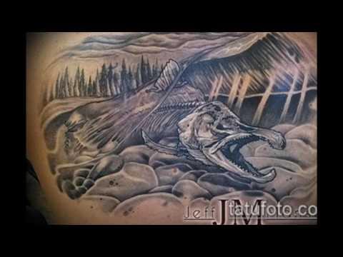 Значение тату «скелет рыбы» - фотографии интересных татуировок