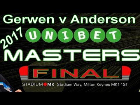 2017 Unibet Masters Michael van Gerwen v Gary Anderson | FINAL