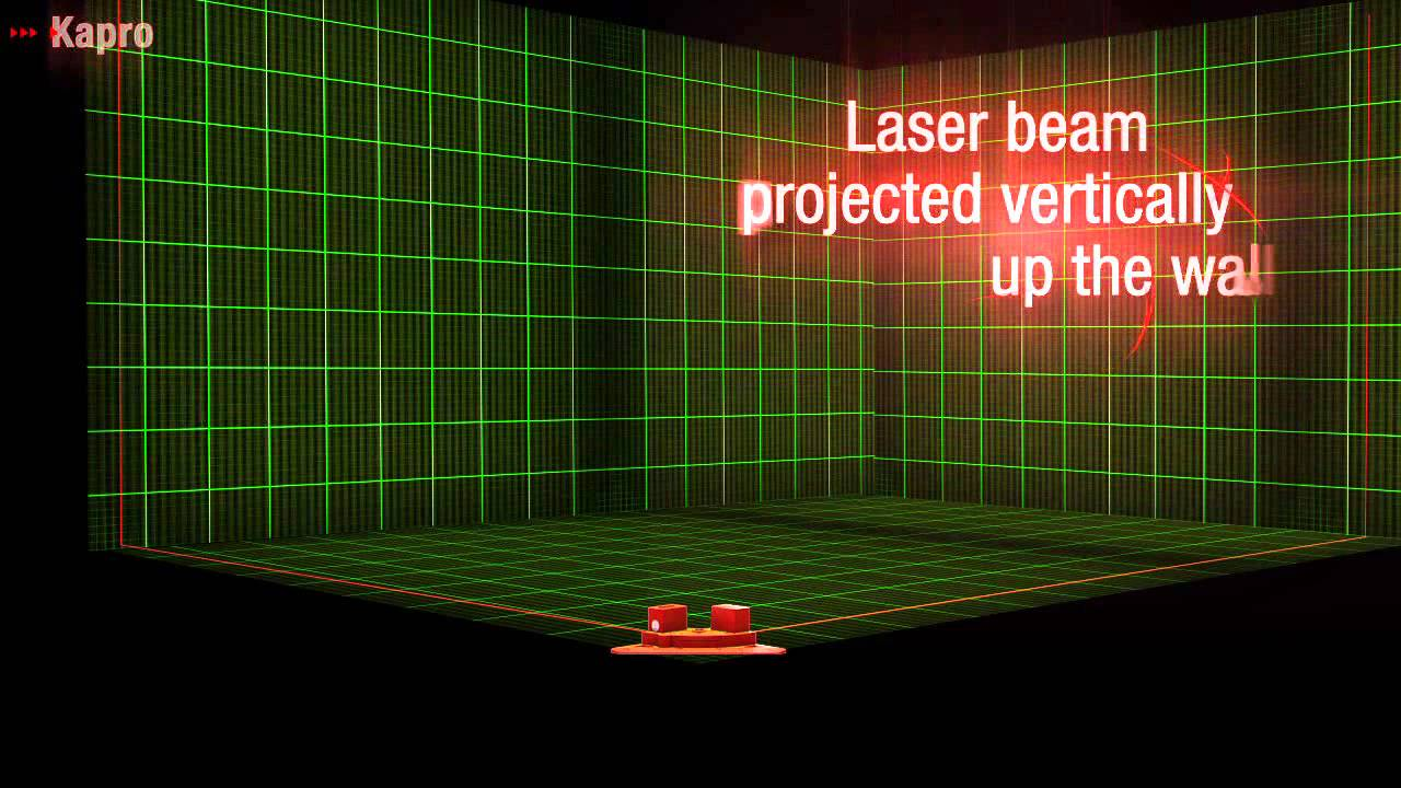 Kapro 891 Laser Square for flooring layout electrical