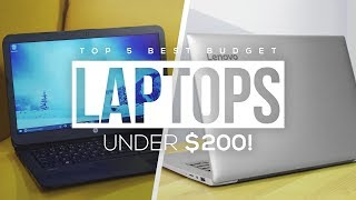 Top 5 Best Budget Laptops Under $200 2018!