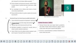 11 SINIF TARİH    17 FÖY TEKRAR CANLI DERS