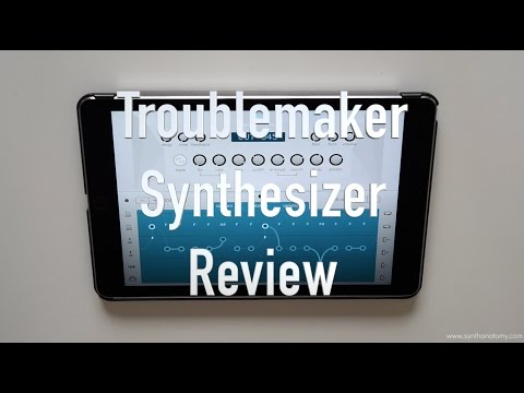 Troublemaker Synthesizer Review - An authentic TB-303 for iOS?