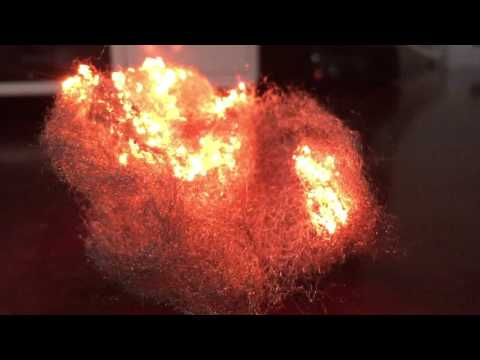 Ignition of Steel Wool