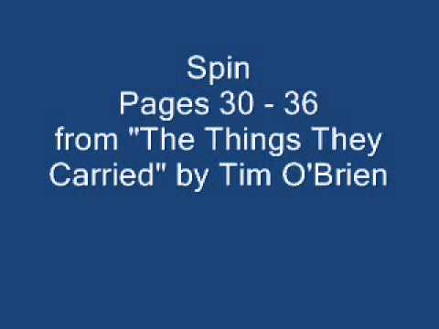 an analysis of tim o brien s the Essays and criticism on tim o'brien's the things they carried - the things they carried, tim o'brien.