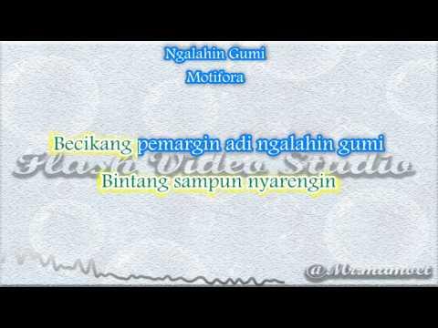 Motifora Ngalahin Gumi Karaoke tanpa Vocal