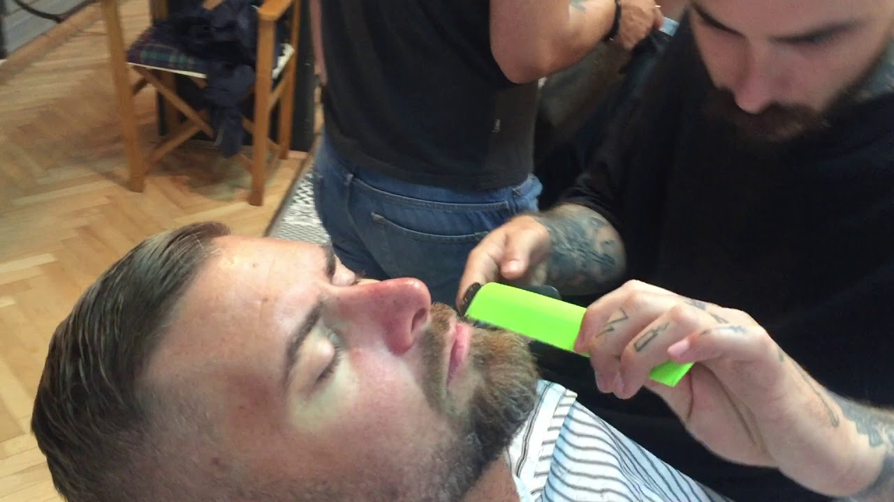 Barber Shop in Bucharest, Romania (Real Sounds ASMR)