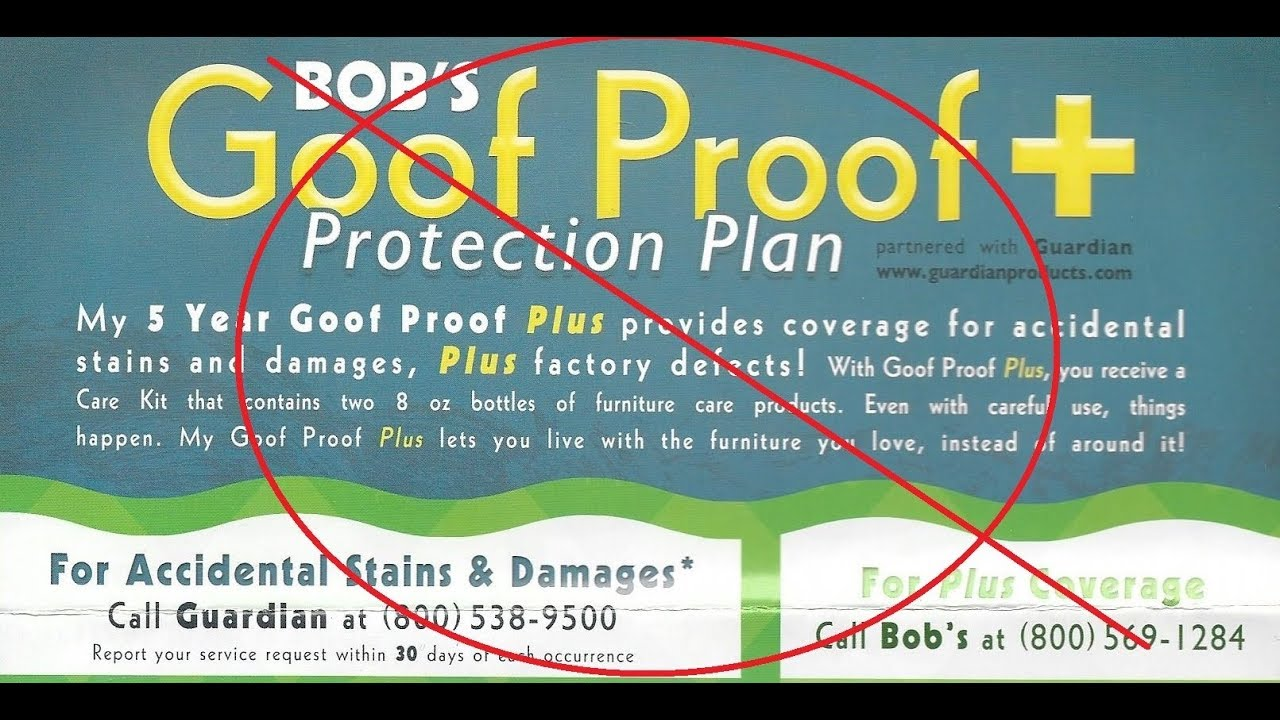 Bobs Goof Proof Plan... Donu0027t Waste Your Money