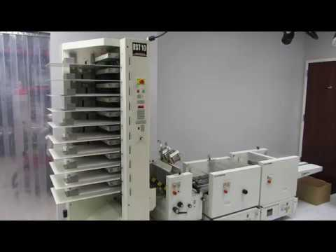 CP Bourg BST-10 AGR-T PA-T TR-T Collator & Booklet Maker