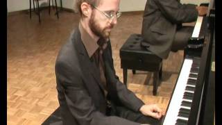 M. Mussorgsky  Pictures at an Exhibition  for 2 pianos (1/3)