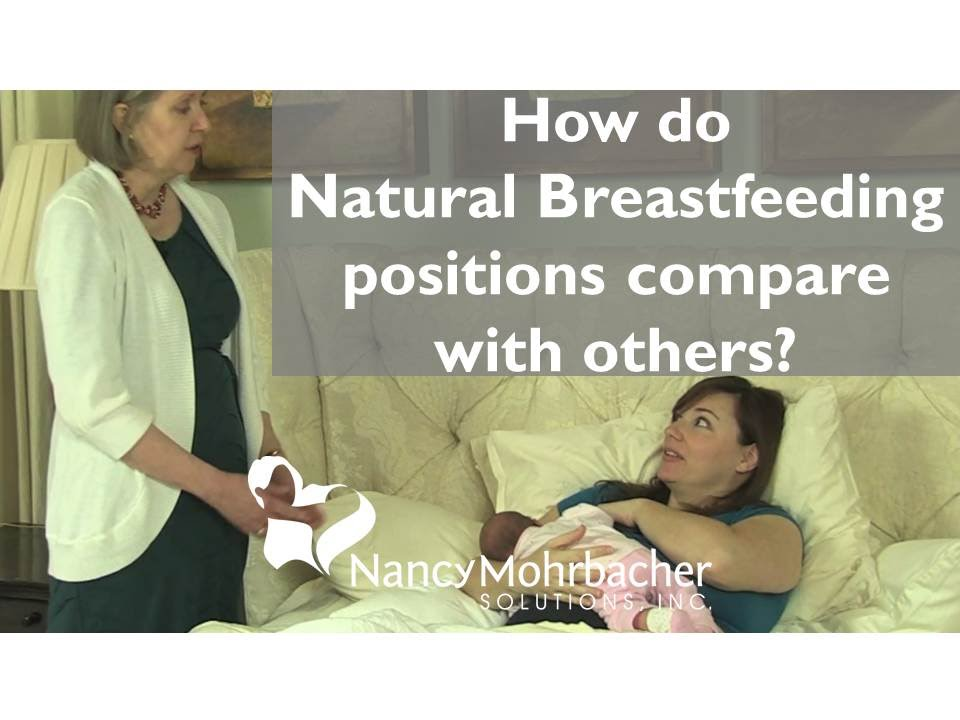 How Do Natural Breastfeeding Positions Compare With Others Youtube