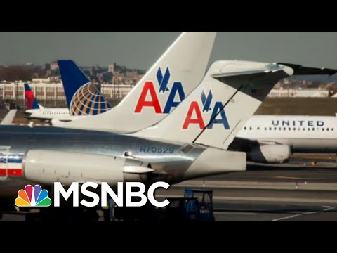 Struggling Airline Industry Requests Additional Federal Aid | Morning Joe | MSNBC