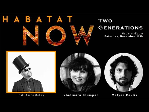 Habatat Now Presents A Visit to Czech Republic with Artists Vladimira Klumpar and Matyas Pavlik.