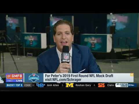 Peter Schrager\'s 2019 First Round NFL Mock Draft