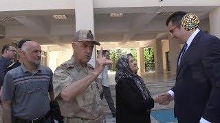 Jandarma komutanı Arif Çetin aniden parladı ve bunları söyledi