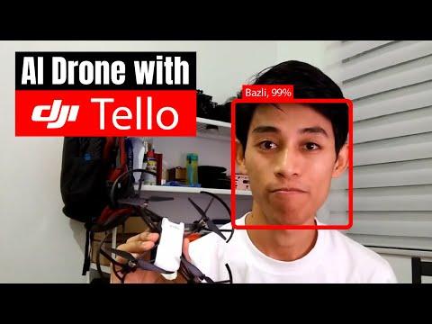 I create AI tracking drone using DJI Tello