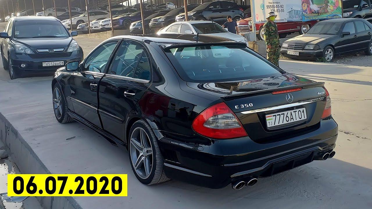 Мошинбозори Душанбе (06.07.2020) / Нархи BMW 3,Proira,Mercedes E-Class,Camry,Vectra