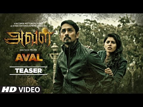 AVAL Official Teaser || Siddharth || Milind, Girishh, Muthamil || Tamil Movies 2017