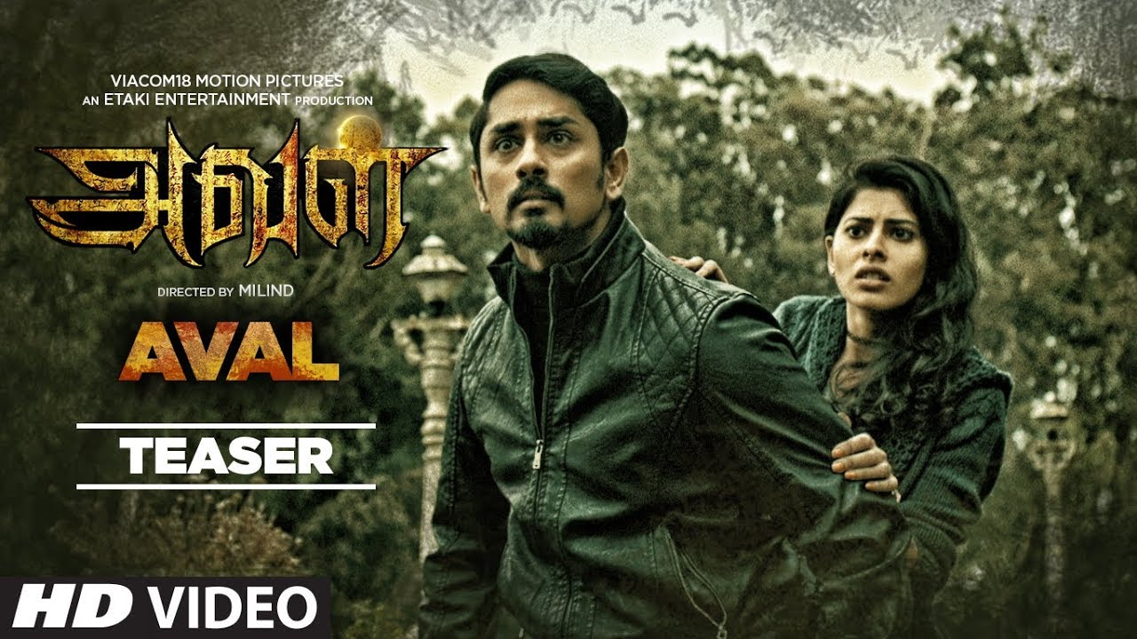 Aval (2017) HD DVD Tamil Full Movie Watch Online Free