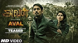Aval Tamil Horror Movie Teaser HD | siddharth