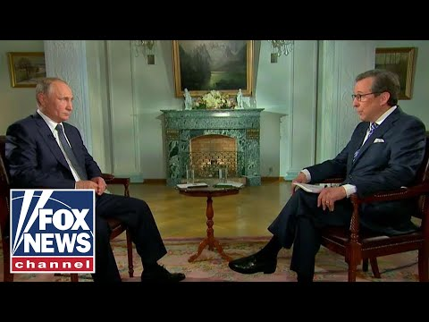 Chris Wallace interviews Russian President Vladimir Putin