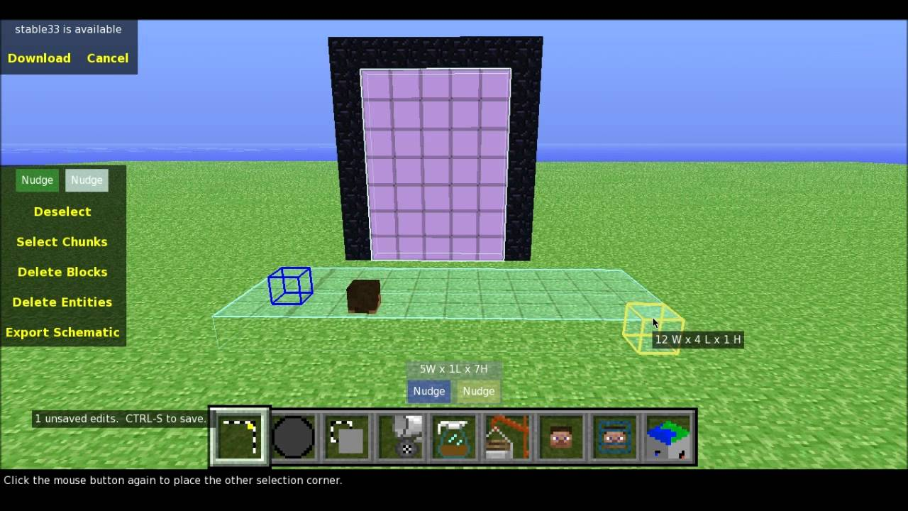 Minecraft How To Make Giant Nether Portals