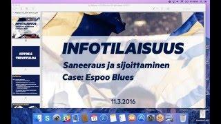 Espoo Blues infotilaisuus: saneeraus & sijoittaminen | 11.3.2016