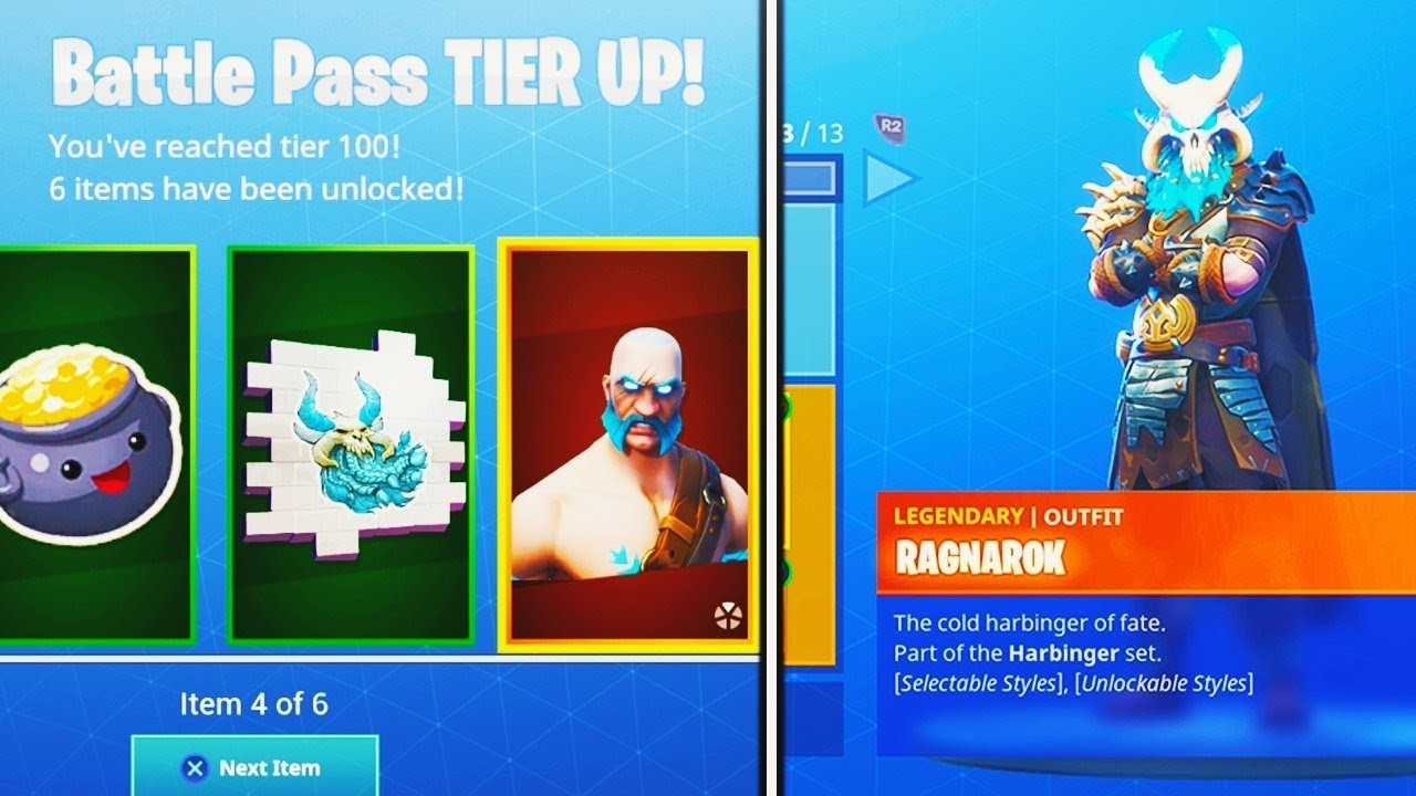 New Season 5 Tier 100 Battle Pass Skin Unlocked In Fortnite Battle