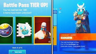 *NEW* SEASON 5 TIER 100 BATTLE PASS SKIN UNLOCKED in Fortnite Battle Royale (Fortnite Tier 100 Skin)