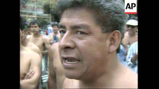 Repeat youtube video MEXICO: SEMI-NUDE DEMONSTRATORS HOLD PROTEST