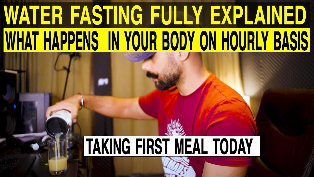 Water fasting fully explained | what happens in 3 days