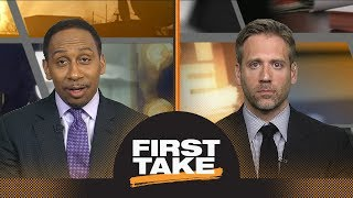 stephen a smith defends james harden he did not choke in game 7 first take espn