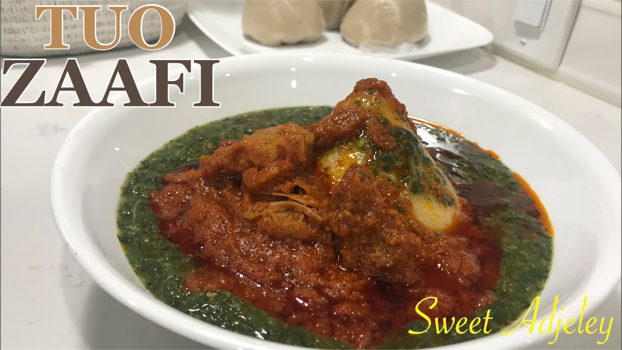 HOW TO MAKE AUTHENTIC TUO ZAAFI FROM SCRATCH | TUO ZAAFI STEW | AYOYO SOUP | TZ FROM SCRATCH