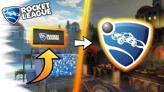 RL LOGO SECRET! - 5 Rocket League EASTER EGGS, SECRETS, & GLITCHES You Don