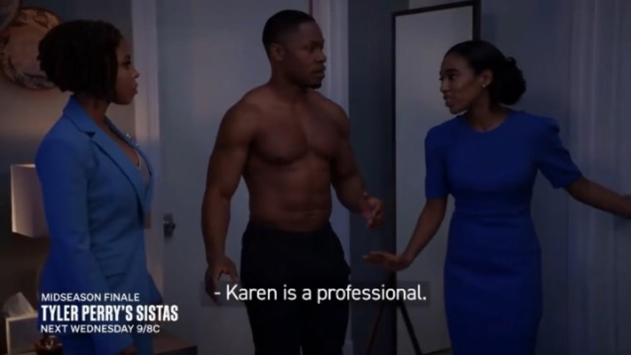 Download Tyler Perry's Sistas   Is Andi Going To Kick Gary Out Of Her Apartment?