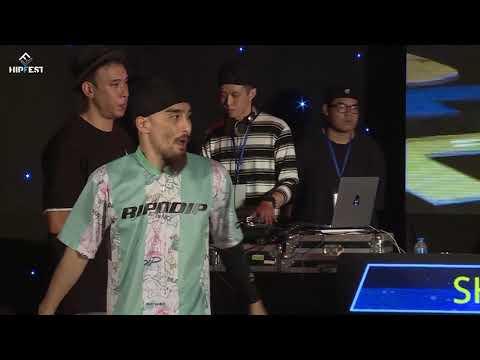 Bboy Shade vs Bboy Panda   Final   Hipfest 2019