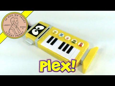 Yo Gabba Gabba Plex The Robot Transforming Keytar Keyboard & Guitar Toy Kids Toy Reviews