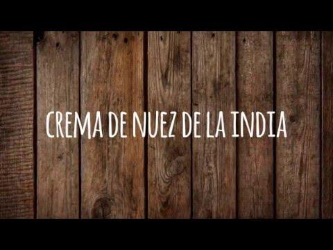 Crema de Nuez de la India