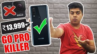 Moto One Action | Phone With Action Camera Inside | Real Go Pro Killer