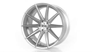 FUEL AUTOTEK Media: TSW Alloy Wheels - Clypse in Titanium w/ Matte Brushed Face