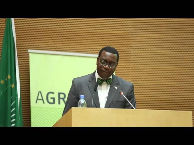 AGRF 2014   Dr Akinwumi Adesina, Nigeria Minister of Agricuture Keynote Speech