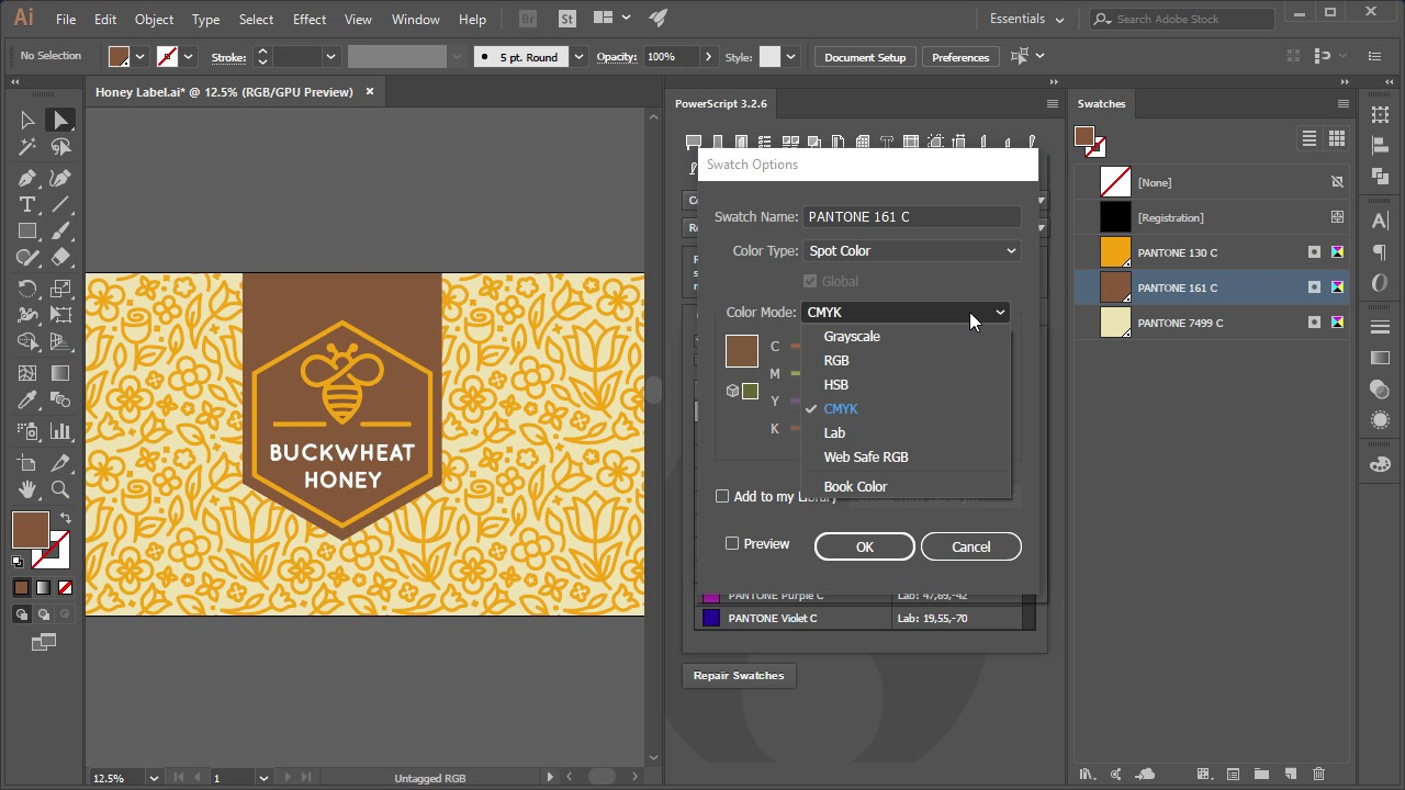 Book color illustrator - Re Spot Powerscript For Adobe Illustrator