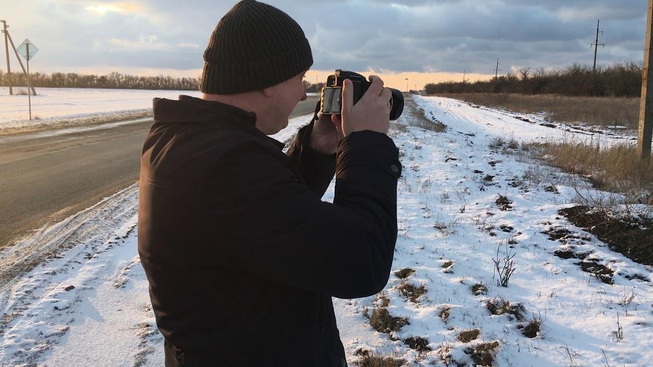 можно техника фото на зеркалку зимой известно