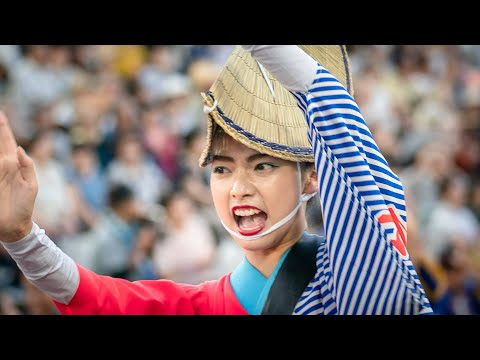 本場徳島阿波おどり・水玉連_藍場浜演舞場_20180813 Awaodori in Tokushima Japan