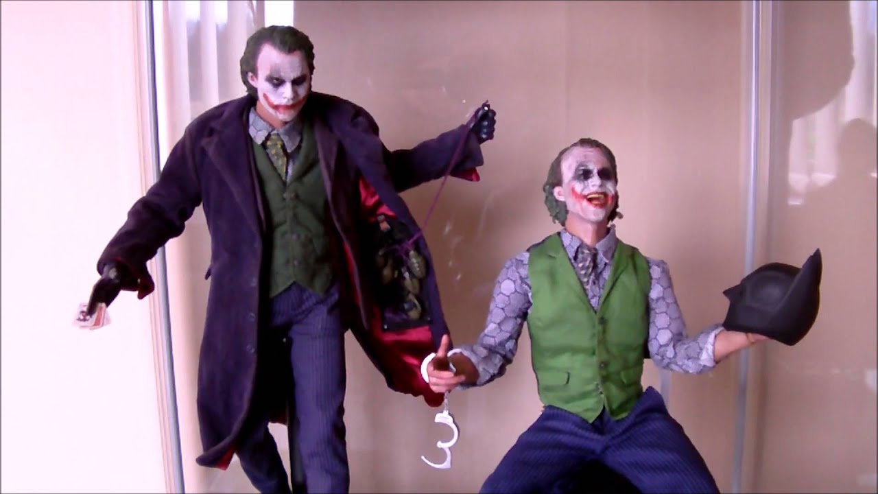 Hot Toys Dx01 Dx11 Joker The Dark Knight Youtube