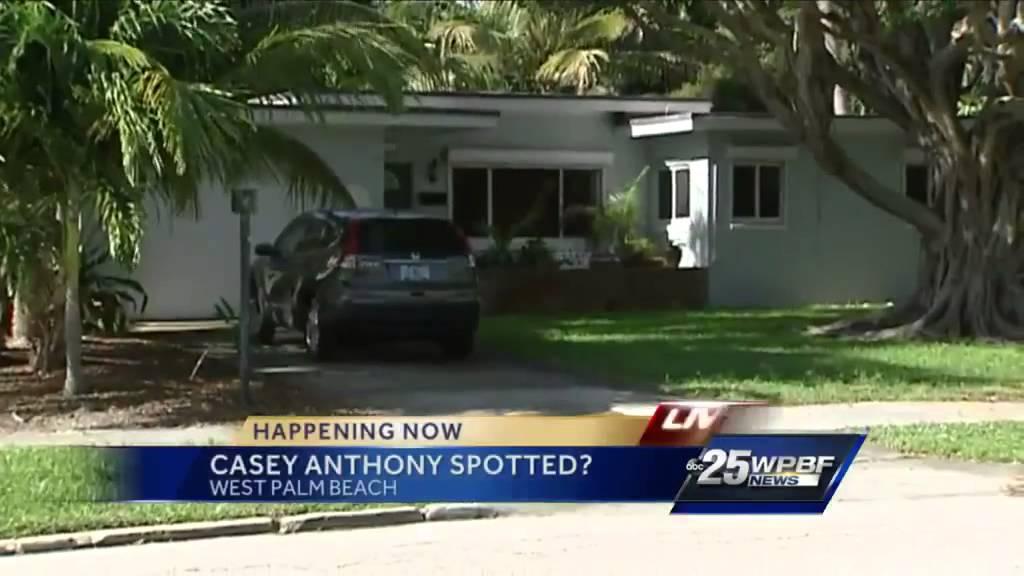 Casey Anthony West Palm Beach Address